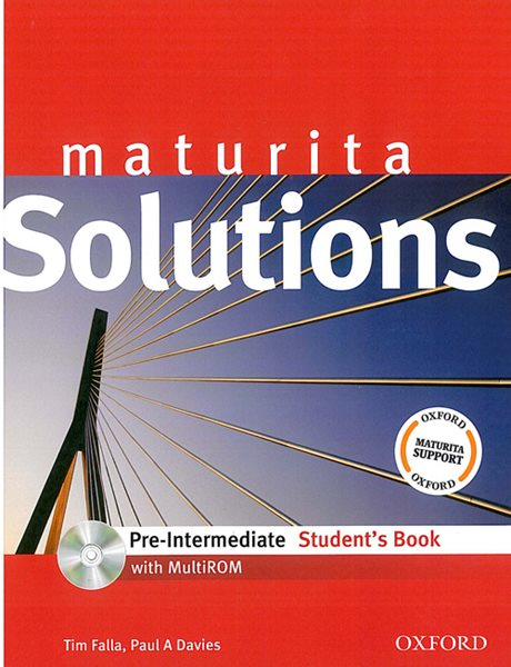 Maturita Solutions Pre-intermediate Students Book + MultiROM - Falla Tim, Davies P. A. - A4, brožovaná