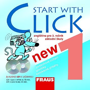 Start with Click NEW 1 - audio CD /2 ks/