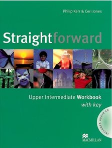 Straightforward upper intermediate Workbook with key + audio CD