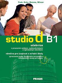 Studio d B1 němčina pro jazykové a střední školy - učebnice s pracovním sešitem a vyjímatelným + aud - Funk H., Kuhn Ch., Demme S. a kolektiv - A4, brožovaná
