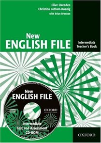New English File intermediate Teachers Book + CD
