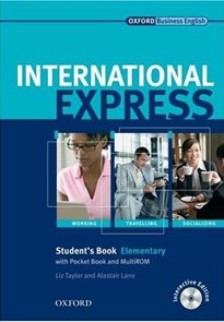 International Express elementary Students Book Interactive Edition + Pocket Book + MultiROM
