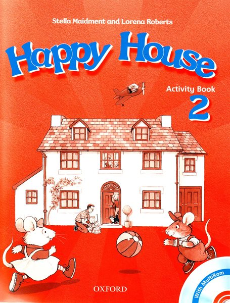 Happy House 2 Activity Book + MultiROM - Maidment Stela, Roberts Lorena - A4, sešitová