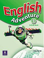English Adventure 1 - Activity Book - Worrall Anne - A4, sešitová