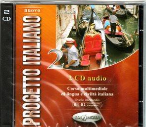 Nuovo Progetto Italiano 2 - audio CD /2 ks/