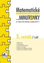 Matematické minutovky pro 5. ročník 1. díl