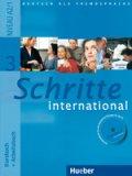 Schritte international 3 Kursbuch + Arbeitsbuch + audio CD + Glossar