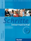 Schritte international 3 Kursbuch + Arbeitsbuch + audio CD + Glossar - A4, brožovaná