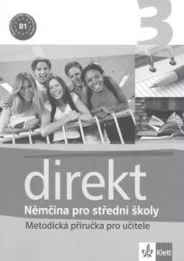 Direkt 3 - Němčina pro střední školy - Metodická příručka pro učitele  CD