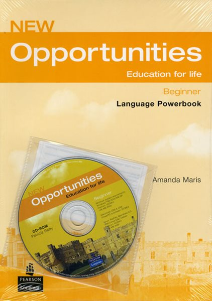 New Opportunities Beginner Language Powerbook + CD - Maris Amanda - A4, brožovaná, Sleva 25%
