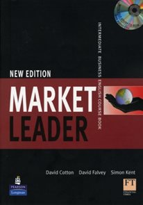 Market Leader Intermediate Coursebook + audio CD + CD-ROM