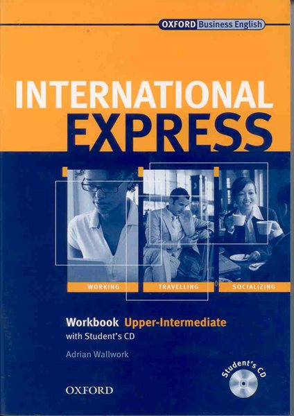 International Express Upper-intermediate Workbook + CD Interactive Edition - Wallwork Adrian