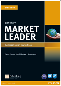 Market Leader 3. vydání Elementary Course Book + CD-ROM + audio CDs