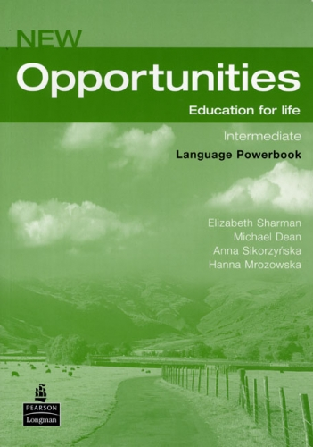 New Opportunities Intermediate Language Powerbook + CD-ROM - Sharman E., Dean M. a kolektiv - A5, brožovaná