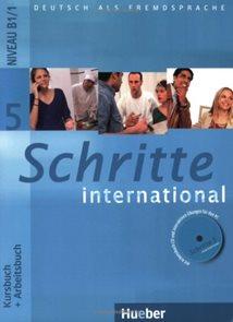 Schritte international 5 Kursbuch + Arbeitsbuch + CD-ROM + Glossar