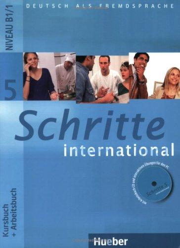 Schritte international 5 Kursbuch + Arbeitsbuch + CD-ROM + Glossar - A4, brožovaná