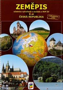 Zeměpis 8. roč., 2. díl - učebnice Česká republika v souladu s RVP ZV