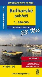 Bulharské pobřeží 1: 300 000 - automapa s průvodcem