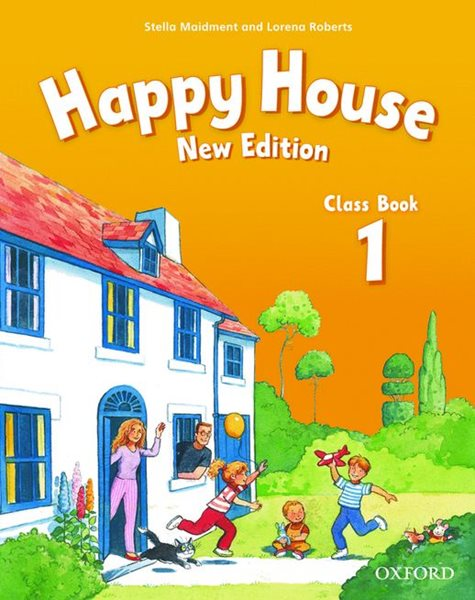 Happy House 1 Class Book NEW EDITION (učebnice) - Maidment Stella, Roberts Lorena - 218x275 mm, sešitová