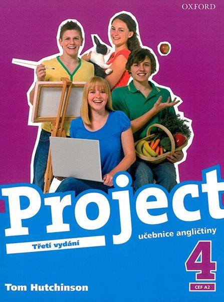Project 4 - učebnice /Třetí vydání/ CZ - Hutchinson Tom - 218x275, brožovaná