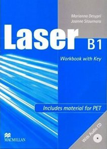 Laser B1 Workbook with key + audio CD