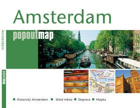 Amsterdam - Kapesní rozkládací mapa