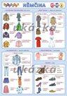 Obrázková němčina 4 - oblečení  ( A5, 2 strany)