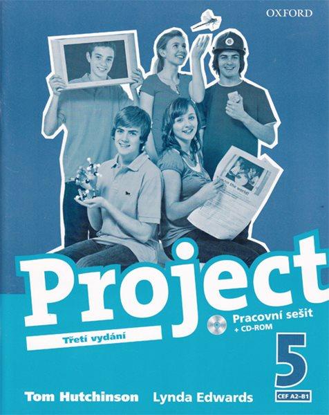 Project 5 - Třetí vydání - pracovní sešit + CD-ROM - Hutchinson T., Edwards L. - A4, sešitová