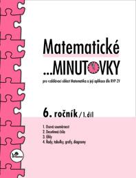 Matematické minutovky pro 6. ročník 1. díl