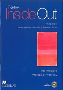 New Inside Out Intermediate Workbook with key + audio CD