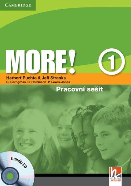 More! 1 - pracovní sešit + audio CD - Puchta H., Stranks J. - A4, brožovaná