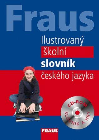 Ilustrovaný školní slovník českého jazyka + CD-ROM - neuveden - 177x247 mm, vázaná