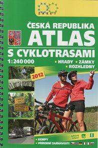 ČR - atl. 1:240 s cyklotrasami - Žaket