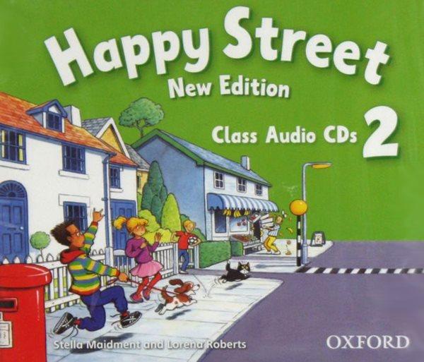 Happy Street 2 NEW EDITION Audio Class CDs