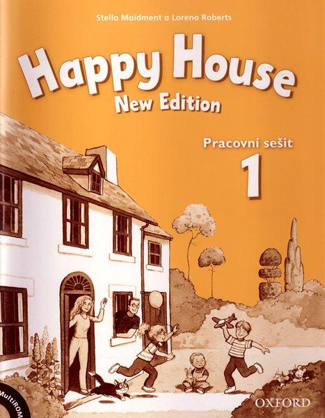 Happy House 1 NEW EDITION Pracovní sešit + Multirom (česká verze) - Maidment S., Roberts L. - A4, sešitová