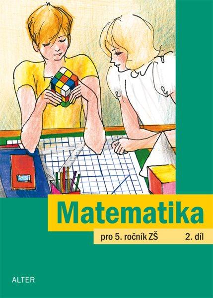 Matematika 5.r. 2.díl - Justová Jaroslava - 165x229 mm, sešitová
