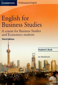 English for Business Studies Students Book /Third Edition/