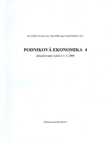 Podniková ekonomika 4 - A4, brožovaná, Sleva 15%