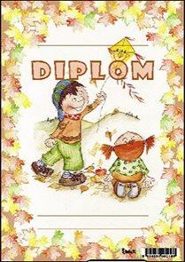 Diplom A5 - Kluk s drakem