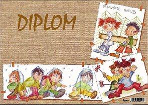 Diplom A4 - Táborníci