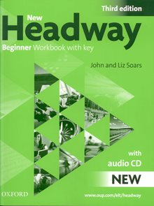 New Headway beginner Third Edition Work Book + audio CD