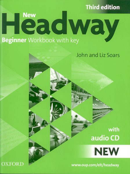 New Headway beginner Third Edition Work Book + audio CD - Soars J., Soars L. - A4, sešitová