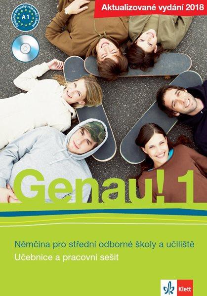 Genau! 1 Němčina pro střední odborné školy a učiliště - Tkadlečková, Carla, Tlustý, Petr