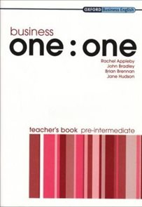 Business one : one Pre-intermediate Teachers Book