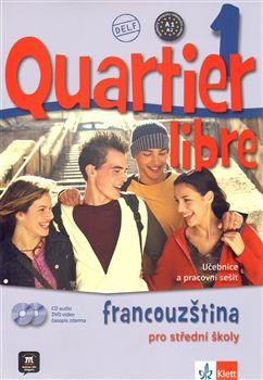 Quartier libre 1 - Francouzština pro střední školy - učebnice a pracovní sešit + audio CD + DVD - Bosquet M. a kolektiv - A4, Sleva 20%