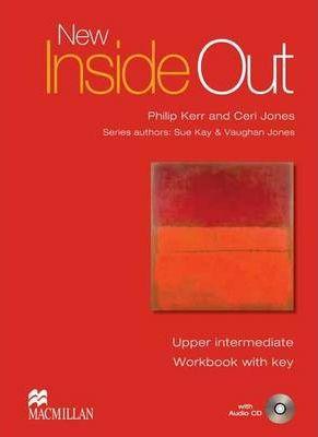 New Inside Out Upper-intermediate Workbook + key - Kerr P., Jones C. - A4, sešitová