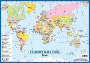 Politická mapa světa - lamino A4