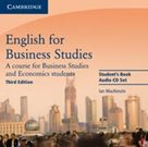 English for Business Studies Students Book Audio CDs /2 ks/