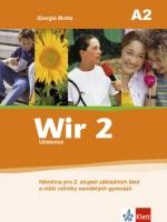 Wir 2 učebnice-Němčina po 2.stupeň ZŠ /A2/