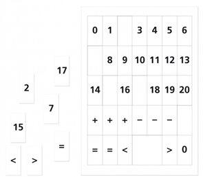 Matematika se Čtyřlístkem 1 pro ZŠ - Sada příloh - Číslice